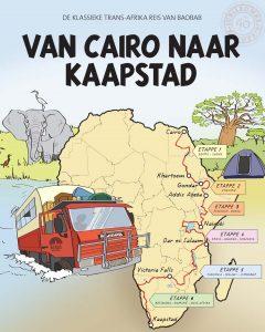 Cartoon Trans-afrikareis door Baobab: van Caïro naar Kaapstad