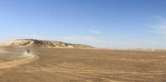 Met 4WD door woestijn in Egypte