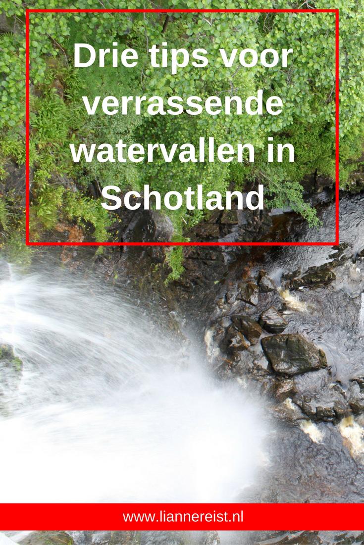 Drie tips voor verrassende watervallen in Schotland