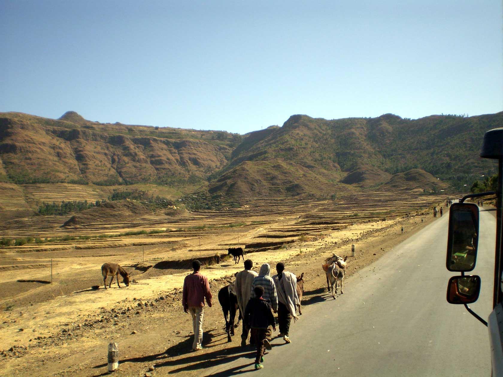 Reizen - Onderweg in Ethiopië