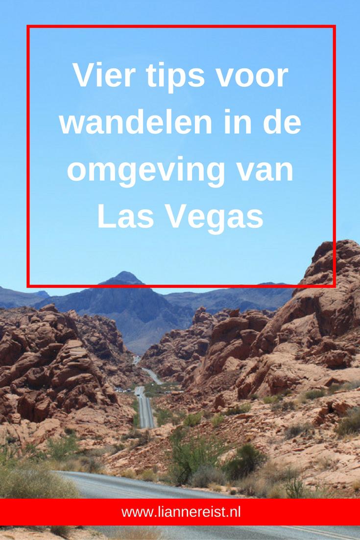 Vier tips om te wandelen in de omgeving van Las Vegas om de benen op te warmen voor Zion National Park.