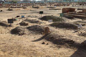 Dansende derwisjen in Sudan - de begraafplaats bij de Hamid al-Nil Moskee in Omdurman