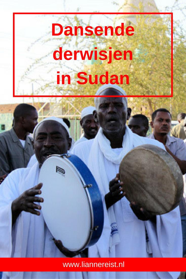 Dansende derwisjen in Sudan