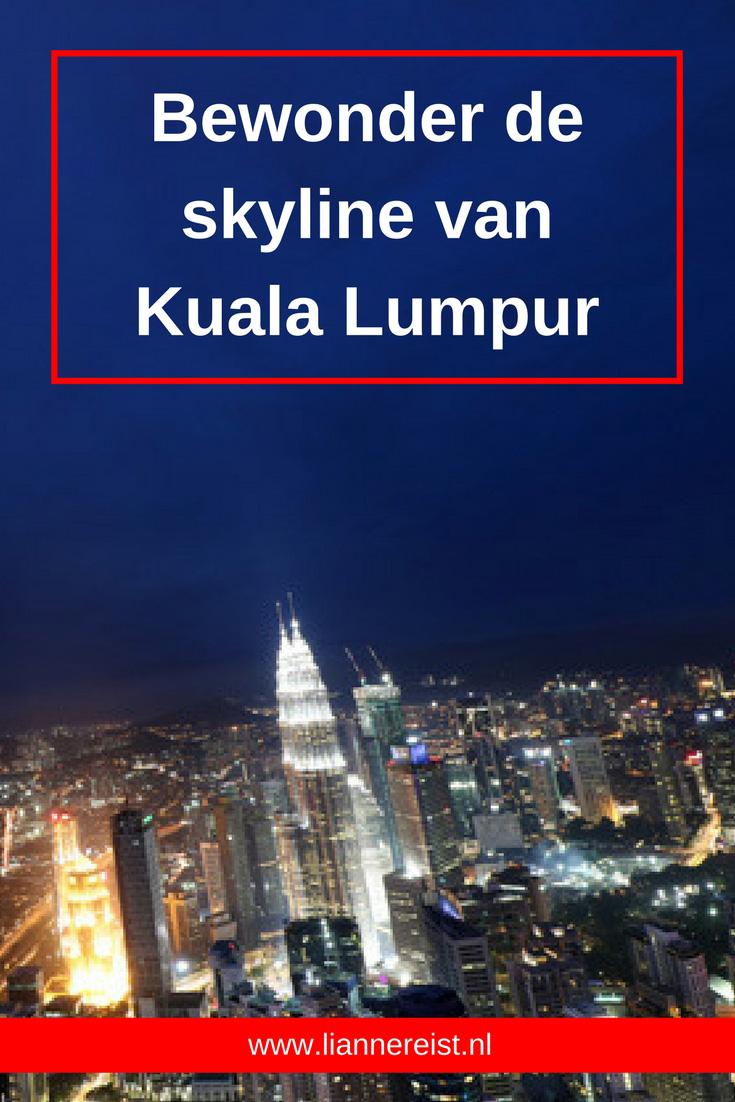 Bewonder de skyline van Kuala Lumpur