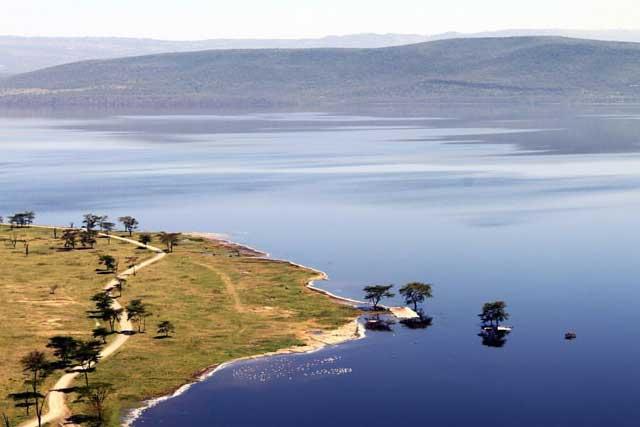Tien populairste Instagram foto's na een jaar - Uitzicht over Lake Nakuru National Park in Kenia