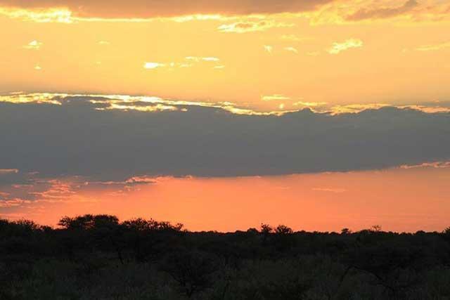 Tien populairste Instagram foto's na een jaar - Zonsondergang in Namibië