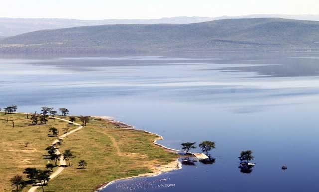 Mijn tien populairste Instagram foto's na een half jaar - nummer 1 Landschap van Lake Nakura in Kenia