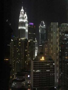 Eerste tien uitzichten van verblijfplaatsen tijdens wereldreis - Kuala Lumpur
