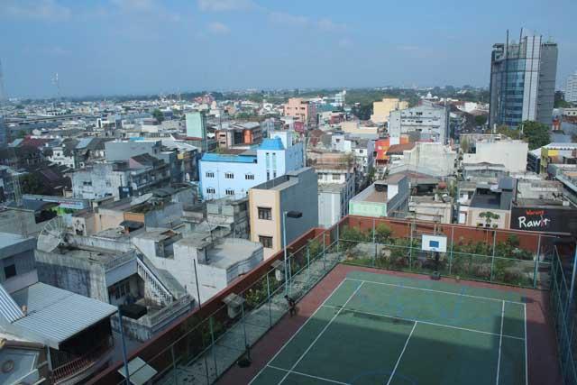 Eerste tien uitzichten van verblijfplaatsen tijdens wereldreis - Medan