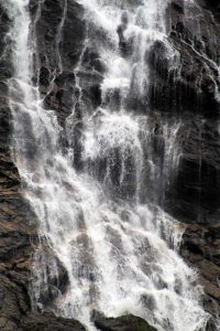 Verrassende watervallen Schotland - Close-up Steall Falls