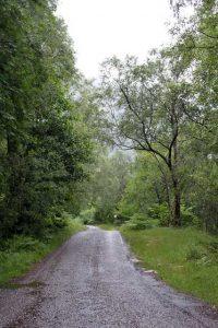 Verrassende watervallen Schotland - Eenbaansweg naar Nevis Gorge