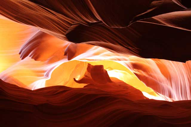 Upper en Lower Antelope Canyon: Upper kloof
