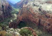 Wandeling Observation Point uitzicht Zion Canyon
