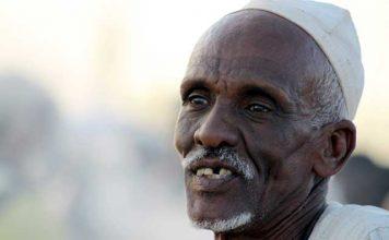 Sudan in dertien portretten - Vriendelijke man in Omdurman