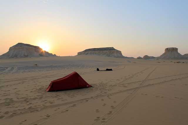 Afrikareis: van Caïro naar Kaapstad - Kamperen in de Witte Woestijn in Egypte