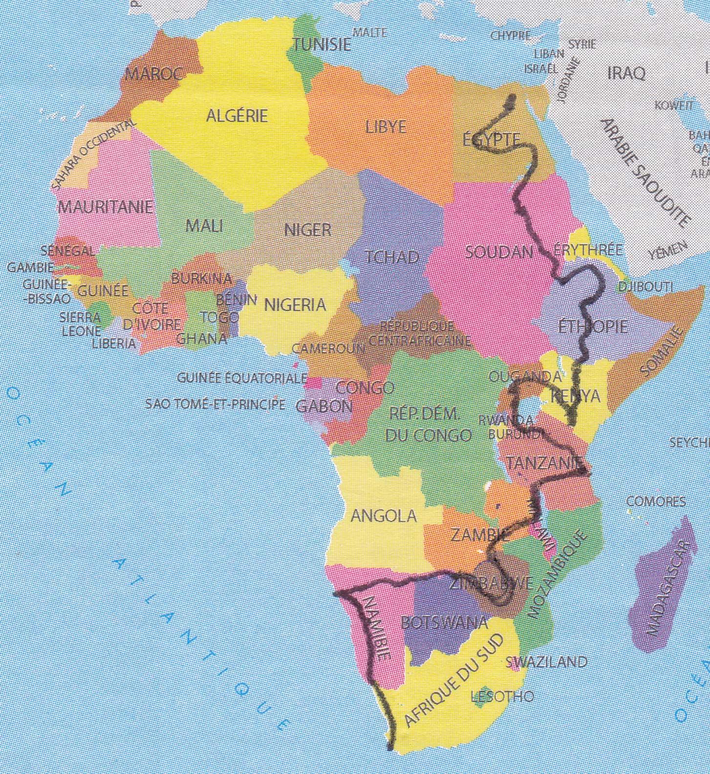 Afrikareis - route door 12 landen van Cairo naar Kaapstad