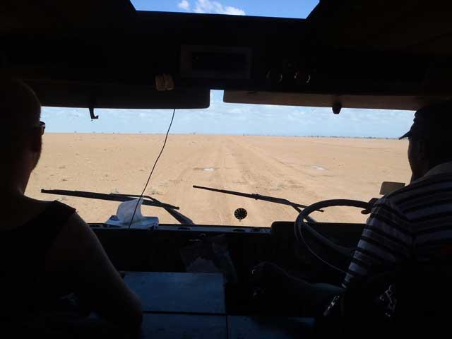 Onderweg in Noord-Kenia