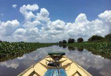 Mahakam rivier in Kalimantan: een boottocht