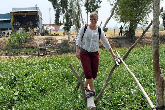 Lianne, die zich afvraagt lange tijd te gaan reizen en op wereldreis te gaan