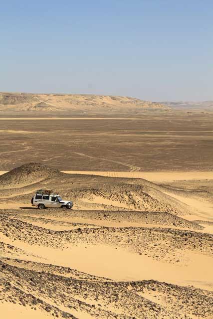 Mijn top tien reisfoto's van Egypte - per 4WD door de Zwarte Woestijn in Egypte