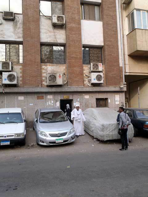 Mijn top tien reisfoto's van Egypte - de ingang van de Sudanese ambasade in Caïro