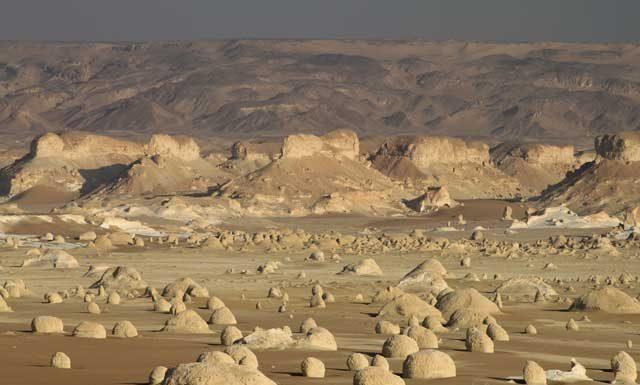Mijn top tien reisfoto's van Egypte - het indrukwekkende landschap van de Witte Woestijn in Egypte