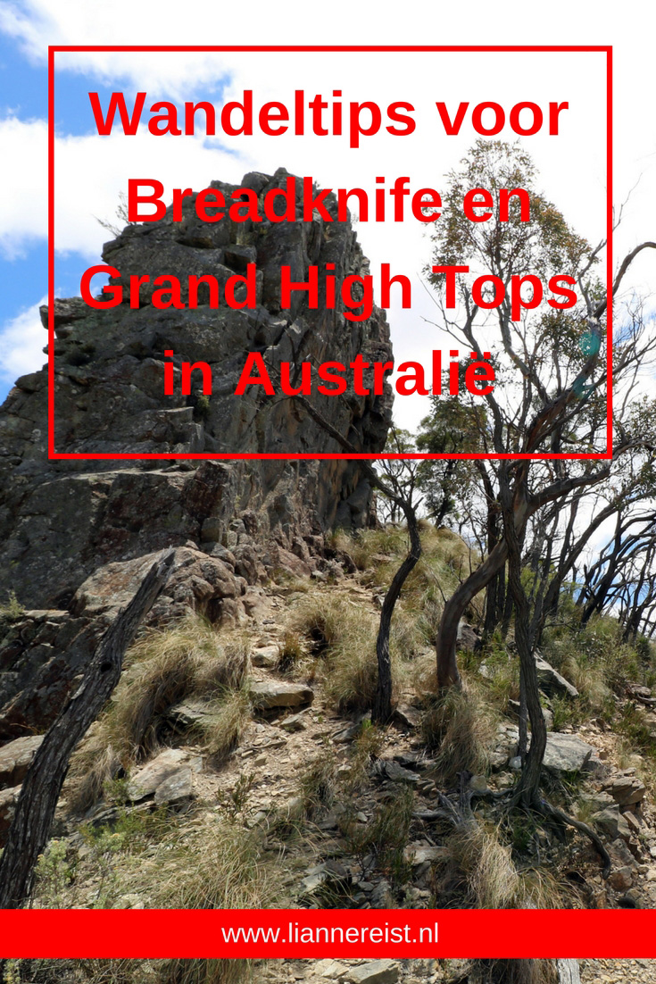 Breadknife en Grand High Tops in Warrumbungle Nationaal Park, New South Wales, Australië