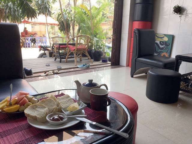 Snelle wifi in Battambang, Cambodja - Snelle wifi en goed eten bij het Choco l'Art Cafe
