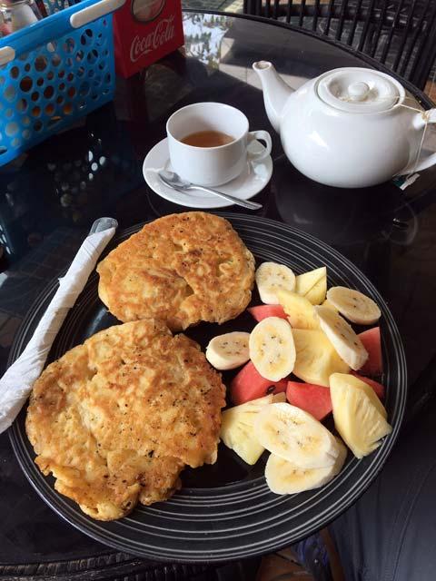 Snelle wifi in Battambang, Cambodja - Heerlijk en goedkoop ontbijt bij het Espresso Coffee House