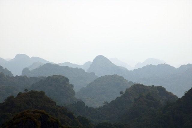 wereldreis: tien meest gelikete fotos instagram kalksteenheuvels cat ba vietnam