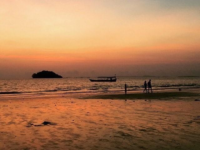 wereldreis: tien meest gelikete fotos instagram zonsondergang otres beach cambodja